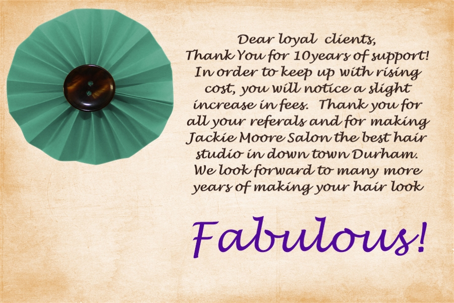 Book Now Jackie Moore Salon